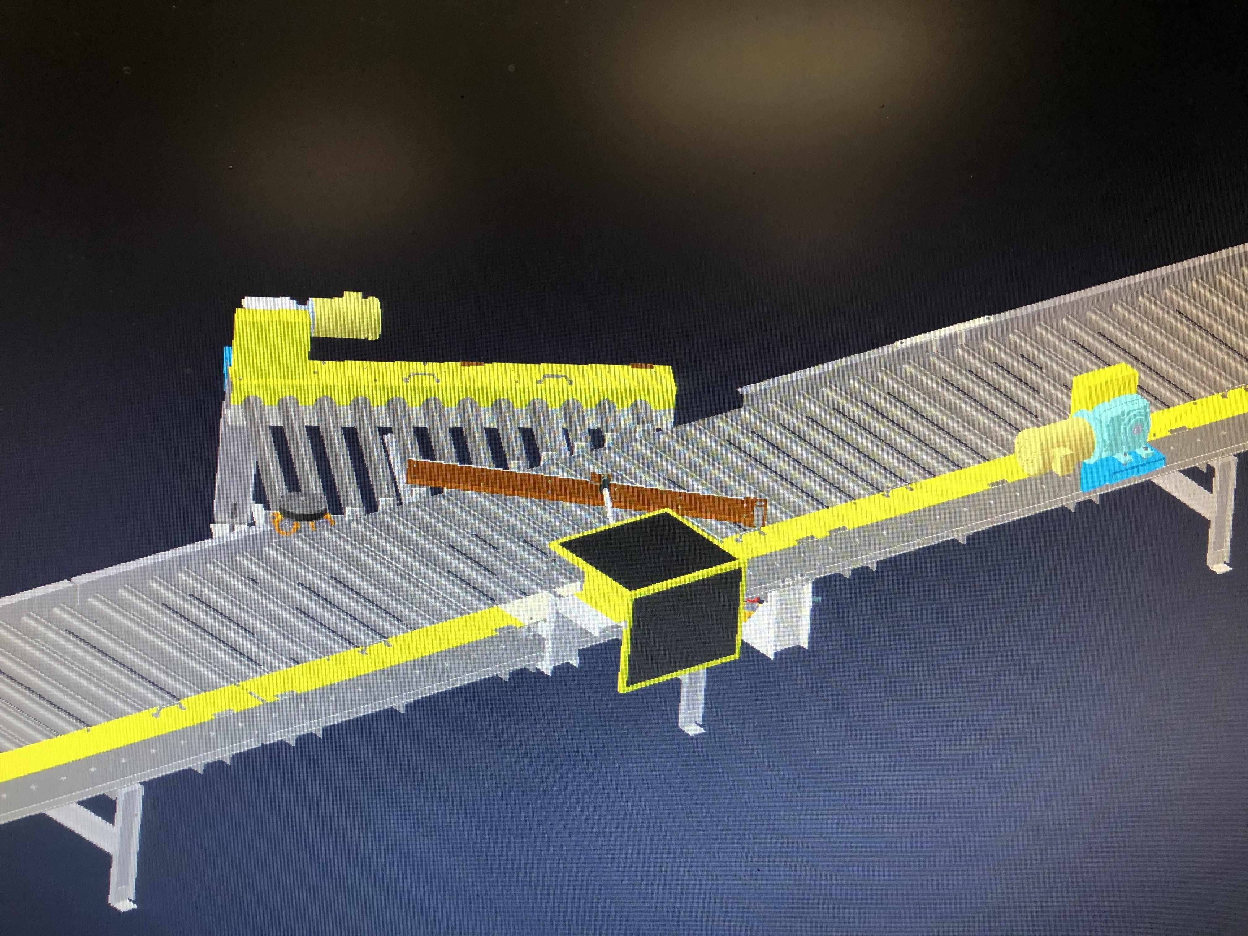 conveyor graphic rendering